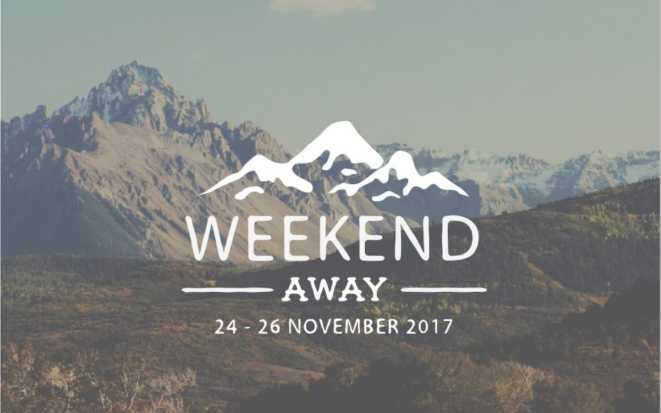 Weekend Away banner